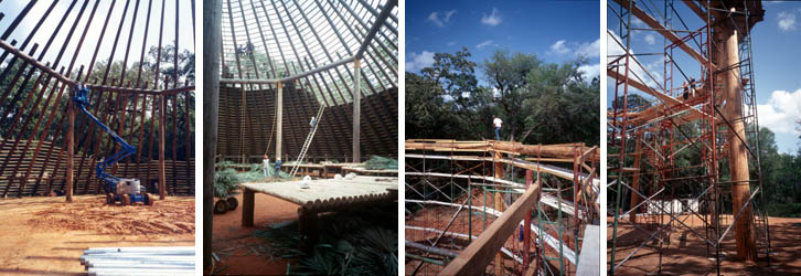 Reconstruction at Mission San Luis